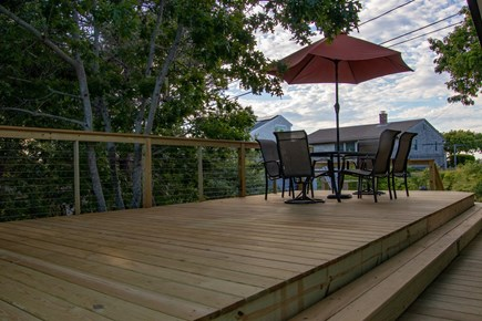 Wellfleet Cape Cod vacation rental - Relax on our brand new deck