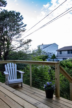 Wellfleet Cape Cod vacation rental - Sit back and relax on our brand new deck