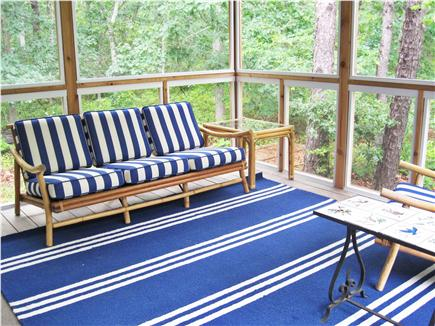 Eastham Cape Cod vacation rental - Beautiful screened porch, bug free!