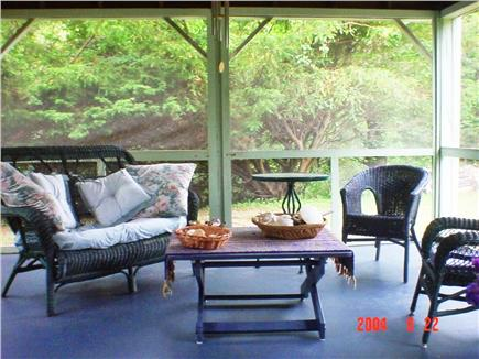 Eastham Cape Cod vacation rental - Screened-in Porch