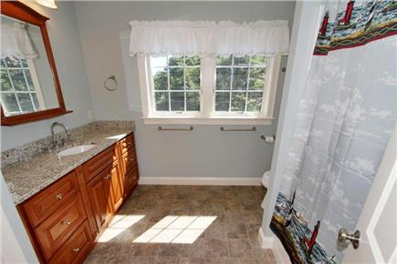 Eastham Cape Cod vacation rental - Guest Bathroom (2nd Level)
