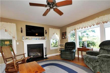 Eastham Cape Cod vacation rental - Living Area (facing Cape Cod Bay)