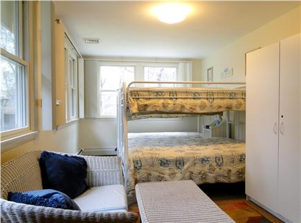 Orleans, Mayflower Point Cape Cod vacation rental - Bunk beds – sleep 4-5, adjacent to half bath