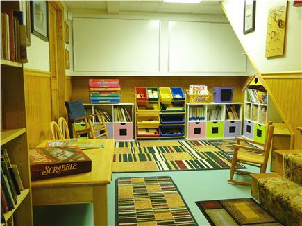 Mayflower Point, Orleans, MA Cape Cod vacation rental - For the little ones, a special place to play in the lower level