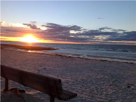 Mayflower Point, Orleans, MA Cape Cod vacation rental - Incredible sunsets at Skaket Beach -  5 min. drive