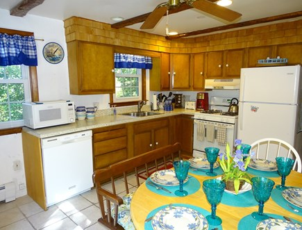 Eastham Cape Cod vacation rental - Full kitchen with all appliances