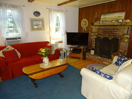 Eastham Cape Cod vacation rental - Living room - bright and comfortable