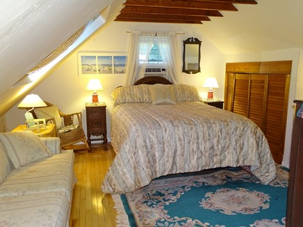Eastham Cape Cod vacation rental - Upstairs bedroom with queen bed, flat screen TV