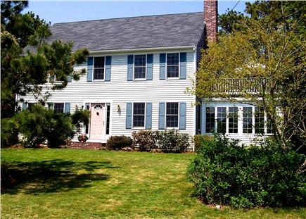 Harwichport  Cape Cod vacation rental - Front view of home