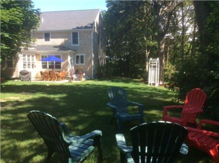 Harwichport  Cape Cod vacation rental - View of back of house from yard