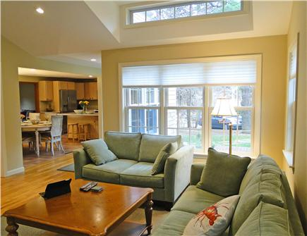S.Harwich/S.Chatham border Cape Cod vacation rental - Family room overlooks yard
