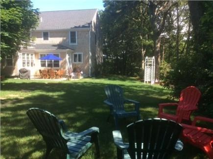 S.Harwich/S.Chatham border Cape Cod vacation rental - View from yard
