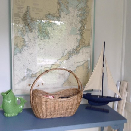 Falmouth Cape Cod vacation rental - Cape Cod decor