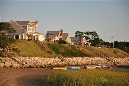 Wellfleet Cape Cod vacation rental - View from private beach at end of drive - excellent sunset spot