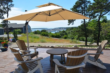 Wellfleet Cape Cod vacation rental - Enjoy the breeze and view from the new patio.