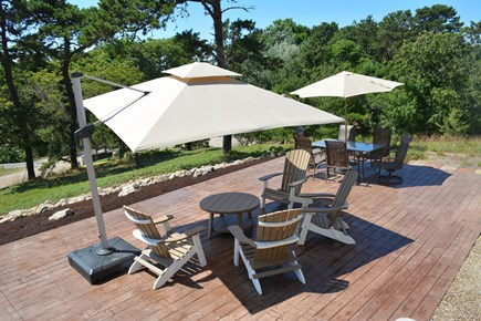 Wellfleet Cape Cod vacation rental - Plenty of room for everyone on the new patio.