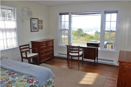 Wellfleet Cape Cod vacation rental - 1st floor bedroom with same amazing view (king bed)