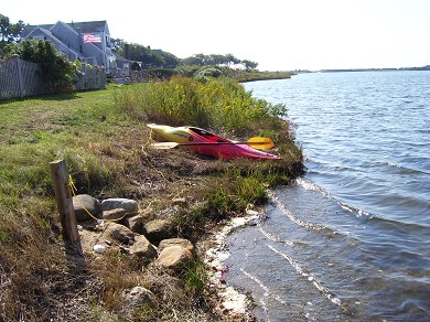East Falmouth (Maravista) Cape Cod vacation rental - View of Little Pond-to the Ocean/Martha's Vineyard
