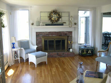 East Falmouth (Maravista) Cape Cod vacation rental - Living Room with spectacular view
