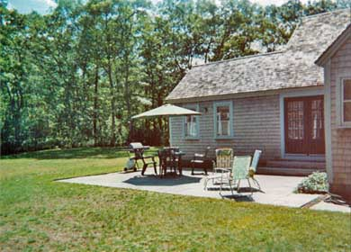 Brewster Cape Cod vacation rental - Patio and private back yard