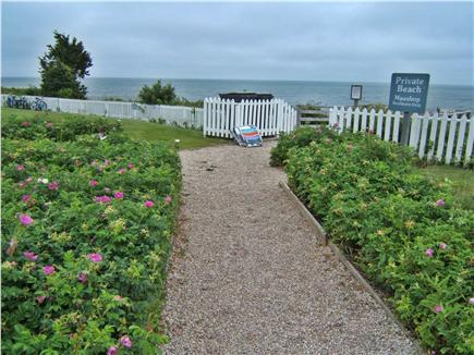 New Seabury, Mashpee New Seabury vacation rental - Gorgeous garden-lined pathways to private beach