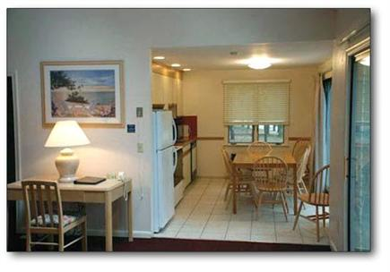 Mashpee Cape Cod vacation rental - Looking into kitchen from living room