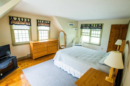 West Yarmouth Cape Cod vacation rental - Upstairs master bedroom with ensuite bath