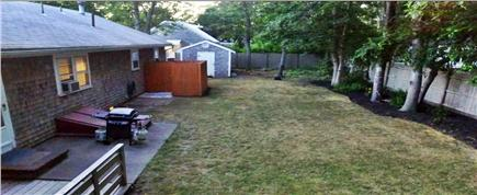Centerville Centerville vacation rental - Backyard