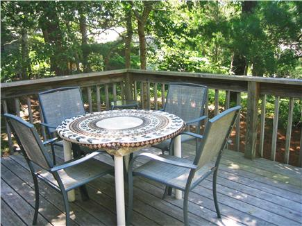 South Chatham Cape Cod vacation rental - Sitting area on deck