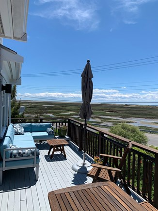 Provincetown Cape Cod vacation rental - View of Moors, Dunes and Bay from Second Floor Deck