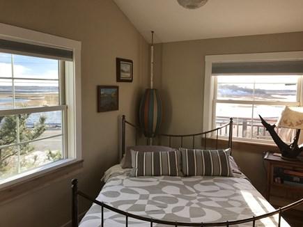 Provincetown Cape Cod vacation rental - Queen Bedroom, Second Floor, with Pocket Doors and Loft