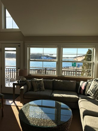 Provincetown Cape Cod vacation rental - Living Room, 2nd Floor, with View of Moors