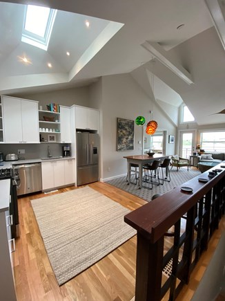 Provincetown Cape Cod vacation rental - Kitchen and bar
