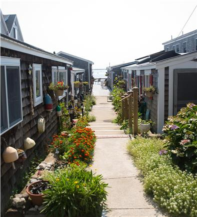 Provincetown Cape Cod vacation rental - Walkway from Commercial St. to Sandpiper.