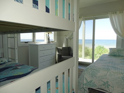 East Dennis Cape Cod vacation rental - Flexible sleeping for kids with a bunk bed and Murphy bed, opens