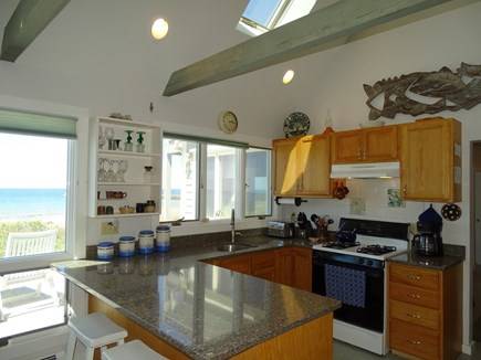 East Dennis Cape Cod vacation rental - Gourmet family cooking in the open, airy kitchen