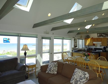 East Dennis Cape Cod vacation rental - Recline or dine in the magnificent great room or deck outside