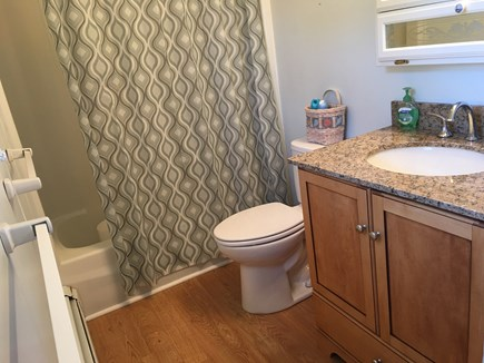 Sandwich/Town Neck Beach Cape Cod vacation rental - Full bath with shower/tub