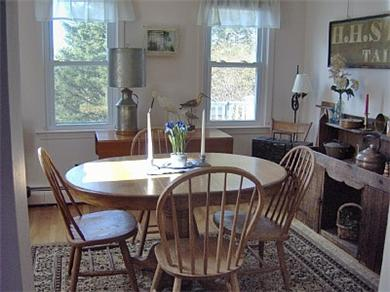 Sandwich/Town Neck Beach Cape Cod vacation rental - Dining Room with Antiques