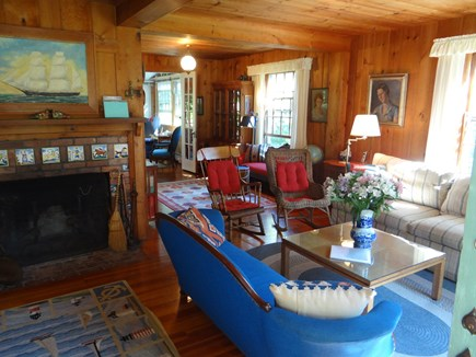 Woods Hole, Gansett Woods area Woods Hole vacation rental - The Living Room is full of warm colors and charm