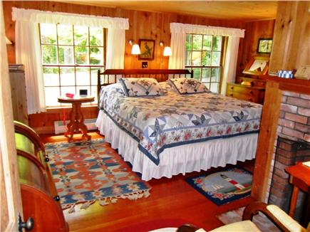 Woods Hole, Gansett Woods area Woods Hole vacation rental - The King Bedroom is roomy and offers great privacy