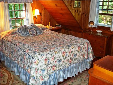 Woods Hole, Gansett Woods area Woods Hole vacation rental - This comfortable Queen Bedroom surrounds you with Flowers