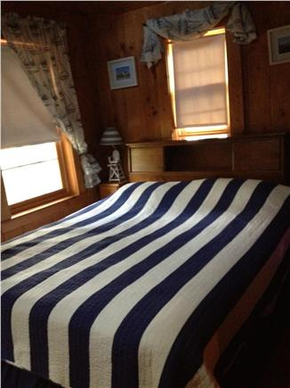 Dennis Port Cape Cod vacation rental - Queen bed in the back bedroom