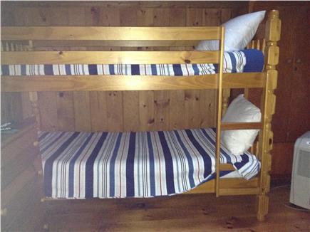 Dennis Port Cape Cod vacation rental - Bunk Beds in the back bedroom