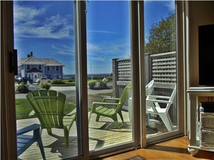 Lewis Bay,West Yarmouth Cape Cod vacation rental - Lewis Bay view from living room and deck