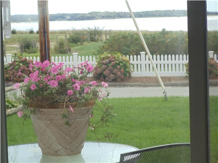 Lewis Bay,West Yarmouth Cape Cod vacation rental - Views from both front decks of property and Lewis BAY