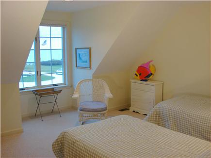 Lewis Bay,West Yarmouth Cape Cod vacation rental - Second floor twin bedroom with salt water views