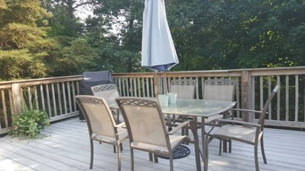 Chatham Cape Cod vacation rental - Deck off Kitchen