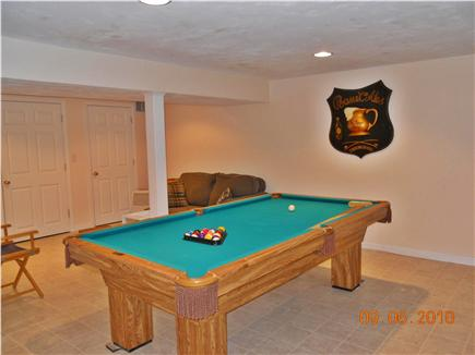Chatham Cape Cod vacation rental - Pool Table in Family Room (Basement)