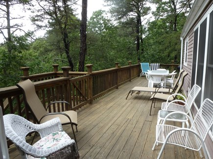 Wellfleet, Duck Pond Area Cape Cod vacation rental - The 50' Wrap-Around Deck